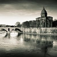 By the Tiber by sican