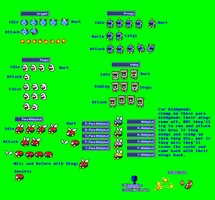 MLSS SM3DL Enemies Sprites Sheet by PxlCobit