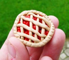 Cherry Pie Magnet by SarahRose