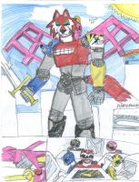 My Mega Zord by Foowd