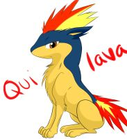 Quilava by horsefan999