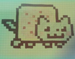 Nyan Cat! by mikepm