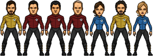 Crew Roster of the USS Polaris by SpiderTrekfan616