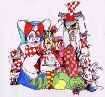 Alice and friends by Alice-fanclub