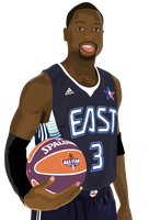Dwayne Wade Vector Final by Akjeter