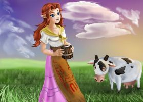Malon by Tetra-Triforce