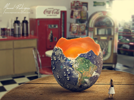Large egg world by mannoel