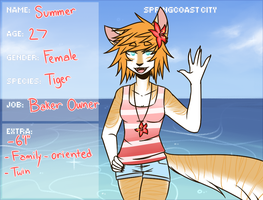 SC: Summer White by Trickychan