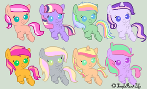 Fluttershy Shipping adopts *2/8 OPEN!* by cloud-Dancer-adopts