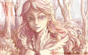 WIP : Rose Elf by flyingpeachbun