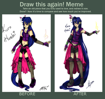 Before and After Meme - UTAU by RomaKH