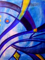 abstract azul 2 by Solartez