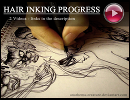 Hair Inking Progress - videos by alaztheri