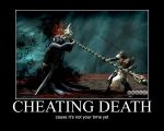 Cheating Death by psyclonius