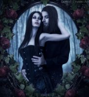 Gothic Embrace by Eternal-Dream-Art