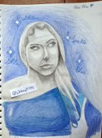 Alexa Bliss Drawing 3 by WhitneyHarris