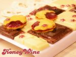 Chocolate and jam cookies on iPhone case 2 by rriee