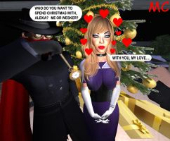 Alexia Ashford Will Spend Christmas With Me by The-Mind-Controller