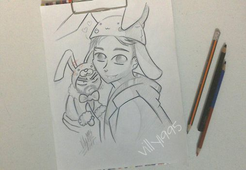 Draw 4 Happy Easter by villy1995