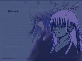 Twilight - Riku wallpaper by halflingrogue