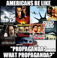 Americans be like 'Propaganda? What Propaganda?' by Valendale