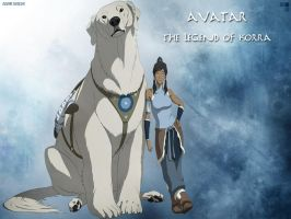 Avatar Legend of Korra Wallpaper by EclairDesigns