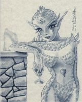 Gaea for Lilena by clarence-mcgraw