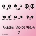 Kawaii faces by ziggy90lisa