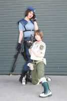 The Ladies of Resident Evil by straywind