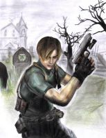 Leon S. Kennedy by VietRebel