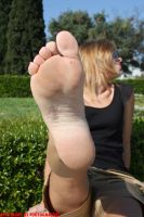 Fedra's Foot In Your Face 8 by Footografo