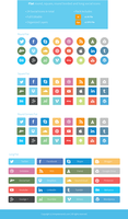Flat-Social-Icons by slayerD1
