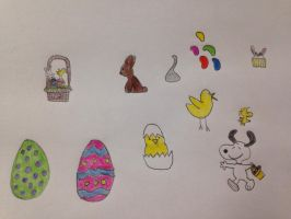 Easter doodles by Prince5s