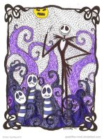 Wyurmies Find Jack Skellington by Quaddles-Roost