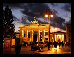 Berlin - Brandenburger Tor by hamti