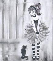 Lady and Cat : call by wariatka