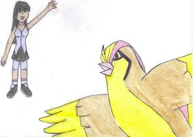 pidgeot and me by princessg123