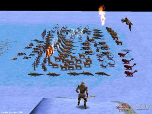 Age of Mythology Myth Unit Army (Red Team)