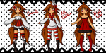 3 Outfit Adopt Auction [CLOSED] by Tsuki-Setsunauta