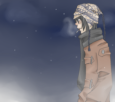 it's cold out by MelonPan234
