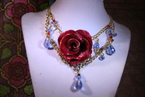 Princess Belle inspired Necklace by KouranKiyo