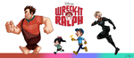 Wreck-it Ralph by x-Lilou-chan-x