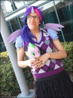 Twily and Spike (COSPLAY) by AniRichie-Art