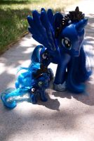 Fashion Luna and Filly Luna Custom by Agony-Roses