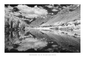 Auronzo, Dolomites - IR by DimensionSeven