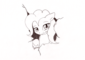 Paper Pinkie by ShadowPoni