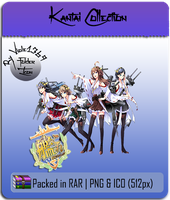 Kantai Collection - KanColle Folder Icon 3 by Viole1369
