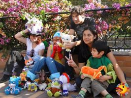 Digimon world Chile together by Digimonworldchile