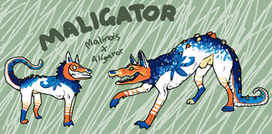 The Maligator by sp00nd