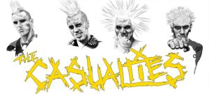 The Casualties -no color- by punks
